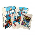 AQUARIUS 52326 MARVEL HEROES RETRO PLAYING CARDS DECK
