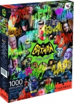 AQUARIUS 65242 BATMAN CLASSIC TV SERIES 1000 PC JIGSAW PUZZLE VDGS