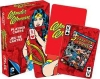 AQUARIUS 52296 DC COMICS- RETRO WONDER WOMAN PLAYING CARDS DECK