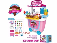 MEGATOYS 8342CB ICE CREAM SHOP 31 PCS
