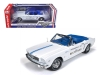 AUTOWORLD 209 1965 FORD MUSTANG CONVERTIBLE INDY 500 PACE CAR. WHITE