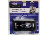 MAGAZINE FOR11 1997 WILLIAMS FW19 -3 *VILLENEUVE*. BLUE/WHITE