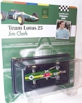 MAGAZINE FOR13 1963 LOTUS 25 -4 *JIM CLARK*. GREEN/YELLOW