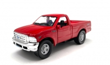 MAGAZINE GTTF350 1:46 FORD F-350 PICKUP. RED