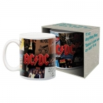 AQUARIUS 47041 AC/DC ALBUMS BOXED MUG TAZON