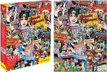 AQUARIUS 65237 DC COMICS- WONDER WOMAN 1000 PC JIGSAW PUZZLE VDGS