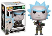 FUNKO 12439 POP! ANIMATION: RICK AND MORTY - WEAPONIZED RI