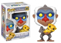 FUNKO 20095 POP! DISNEY: LION KING - RAFIKI HOLDING BABY