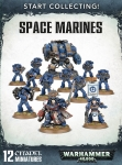 WARHAMMER 99120101195 START COLLECTING! SPACE MARINES