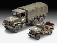 REVELL 03260 M34 TACTICAL TRUCK & OFF ROAD VEHICLE 1:35