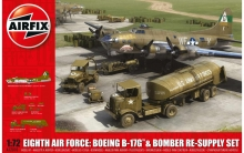 AIRFIX 12010 EIGTH AIR FORCE RESUPPLY SET 1:72