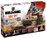 ITALERI 56501 WORLD OF TANKS : PZ.KPFW.VI TIGER I 1:56