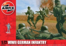 AIRFIX 00705 GERMAN INFANTRY WWII 1:72