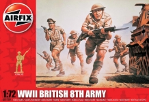 AIRFIX 00709 BRITISH 8TH ARM 1:72