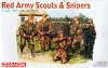 DRAGON 6068 RED ARMY SCOUTS - SNIPERS