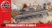 AIRFIX 01306 75 MM ASSAULT GUN 1:76
