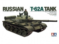 TAMIYA 35108 RUSSIAN T 62 A C/FIG 1:35
