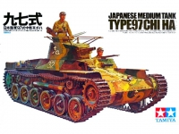 TAMIYA 35075 JAPANESE TANK TYPE 97 CHI HA C/FIG 1:35