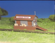 BACHMANN 45171 FREIGHT STATION HO