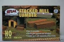 ATLAS 791 STACKED MILL LUMBER (SOLO MADERAS) KIT HO