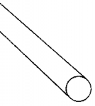 PLASTRUCT 90850 ROUND ROD .3 MM
