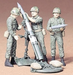 TAMIYA 35119 US 107 MM MORTAR & CREW