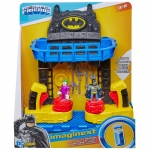 MATTEL FKW12 FISHER PRICE BATTLE GROUND BATCAVE PLAY.