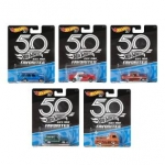 MATTEL FLF35 HOT WHEELS PREMIUM 50TH ANNIVERSARY FAV