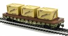 MANTUA 727004 US ARMY - 40 FLAT WITH CRATES