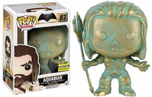 FUNKO 10264 BATMAN V SUPERMAN AQUAMAN PATINA POP! VINYL FIGURE - EE EXC.