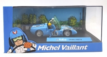 MAGAZINE MVSPORTPROTO SPORT PROTO -14 *MICHEL VAILLANT SERIES*. LIGHT BLUE/WHITE