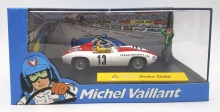 MAGAZINE MVTEXAS TEXAS DRIVERS BOCAR *MICHEL VAILLANT SERIES*. RED/WHITE