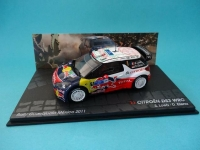 MAGAZINE RADS3NO1-2011 2011 CITROEN DS3 WRC -1 LOEB/ELENA RALLY MEXICO
