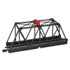 BACHMANN 44473 E-Z TRACK TRUSS BRIDGE W-BLINKING LIGHT