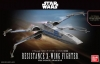 BANDAI 202289 1:72 RESISTANCE X-WING STAR FIGHTER SW FRC AWKN