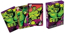 AQUARIUS 52277 MARVEL- HULK COMICS PLAYING CARDS DECK