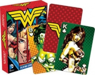 AQUARIUS 52288 DC COMICS- WONDER WOMAN PLAYING CARDS DECK