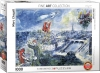EUROGRAPHICS 6000-0850 LE BOUQUET DE PARIS BY CHAGALL