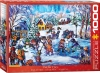 EUROGRAPHICS 6000-5333 MERTIKAS - SNOW DAY