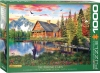 EUROGRAPHICS 6000-5376 THE FISHING COTTAGE BY DAVISON
