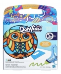 HASBRO E0126 DOH VINCI STAINED GLASS EFFECT AST SURTIDO