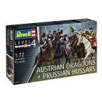 REVELL 02453 SEVEN Y.WAR(AUSTRIAN DRAGOONS & PRUSSIAN HUSSARS 1:72