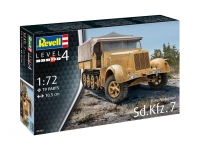 REVELL 03263 SD.KFZ. 7 (LATE PRODUCTION) 1:72