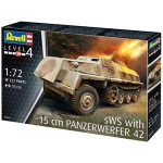 REVELL 03264 SWS WITH 15 CM PANZERWERFER 42 1:72