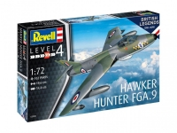 REVELL 03908 BRITISH LEGENDS: HAWKER HUNTER F 1:72