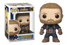 FUNKO 26466 POP! MARVEL: / AVENGERS INFINITY WAR - CAPTAIN AMERICA