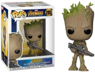 FUNKO 26904 FUNKO POP! MARVEL: / AVENGERS INFINITY WAR - TEEN GROOT WITH GUN