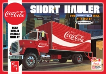 AMT 1048 1:25 COCA COLA 1970 FORD LOUISVILLE SHORT HAULER