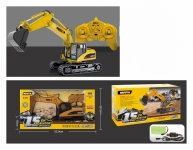 GIGATOYS 1350 1:14 15CH RC ALLOY GRAB EXCAVATOR