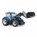 BRUDER 03121 NEW HOLLAND T7.315 TRACTOR WITH FRONT LOADER